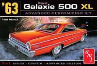 1963 Ford Galaxie XL, 1:25 (Pidemmällä Toimitusajalla)