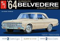1964 Plymouth Belvedere w/ Slant 6 Engine, 1:25 (Pidemmällä Toimitusajalla)