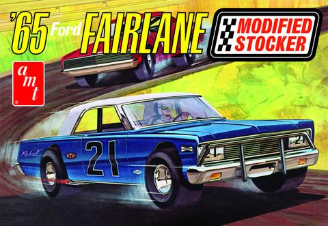 1965 Ford Fairlane Modified Stocker, 1:25 (Pidemmällä Toimitusajalla)