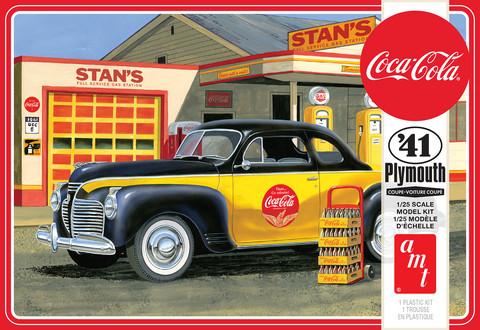 1941 Plymouth Coupe Coca Cola, 1:25 (Pidemmällä Toimitusajalla)