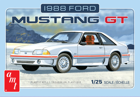 1988 Ford Mustang GT, 1:25 (Pidemmällä Toimitusajalla)