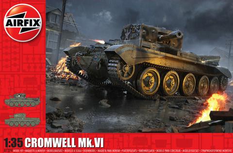 Cromwell Mk.VI, 1:35 (pidemmällä toimitusajalla)