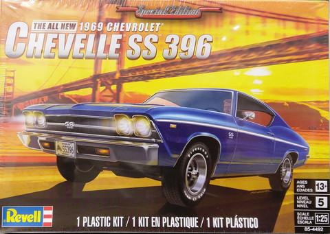 Chevrolet Chevelle 396 '69, 1:25 (pidemmällä toimitusajalla)