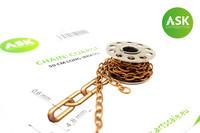 Chain, Coarse 50cm (brass)