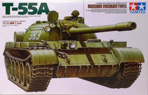 Russian Medium Tank T-55, 1:35