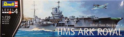 HMS Ark Royal, 1:720