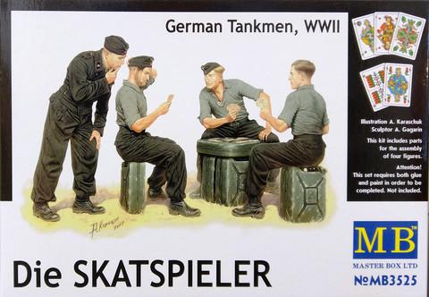 German Tankmen WWII, Die Skatspieler, 1:35 (pidemmällä toimitusajalla)