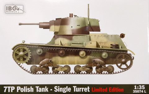 7TP Polish Tank Single Turret Limited Edition, 1:35 (pidemmällä toimitusajalla)