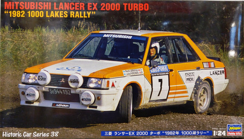 Mitsubishi Lancer EX2000 Turbo 1982 1000 Lakes Rally, 1:24