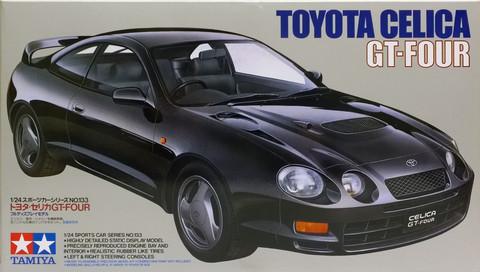 Toyota Celica GT-FOUR, 1:24 (pidemmällä toimitusajalla)