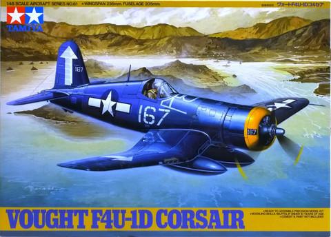 Vought F4U-1D Corsair, 1:48 (pidemmällä toimitusajalla)