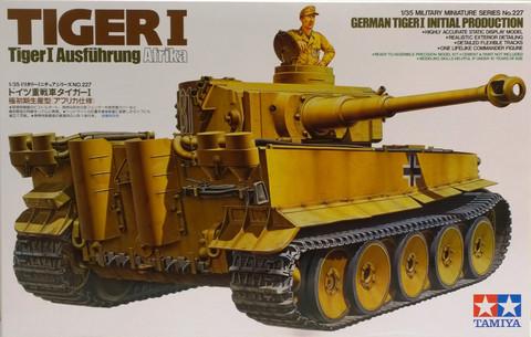 Tiger I Initial Production, 1:35 (pidemmällä toimitusajalla)