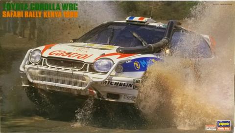 Toyota Corolla WRC Safari Rally Kenya 1998, 1:24