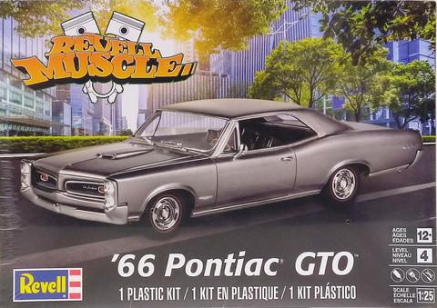Pontiac GTO '66, 1:25 (pidemmällä toimitusajalla)