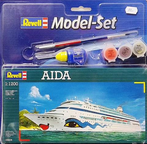Aida Model Set, 1:1100