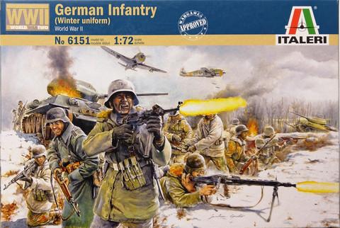 German Infantry, 1:72