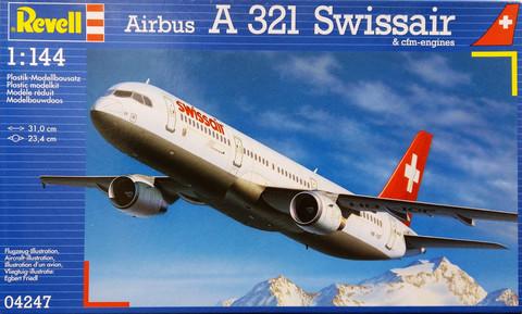 Airbus A 321 Swissair, 1:144