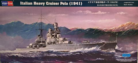 Italian Heavy Cruiser Pola (1941), 1:350 (pidemmällä toimitusajalla)