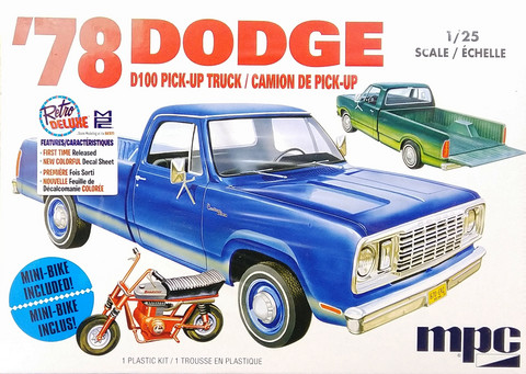 Dodge D100 Pick-up '78, 1:25 (pidemmällä toimitusajalla)