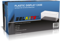 Plastic Display Case (232mm x 120mm x 86mm)