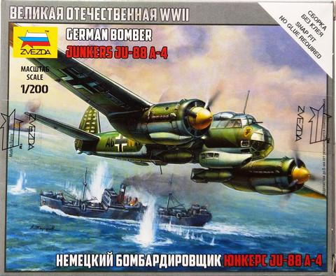 German Bomber Junkers Ju-88 A-4, 1:200