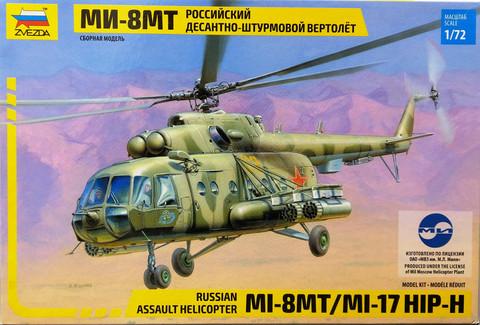 Russian Assault Helicopter MI-8MT/MI-17 HIP-H, 1:72