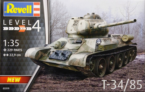 T-34/85, 1:35
