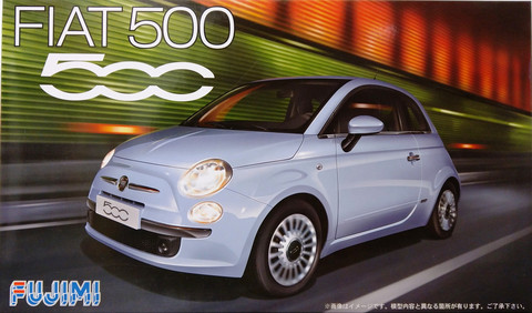 Fiat 500, 1:24 (pidemmällä toimitusajalla)