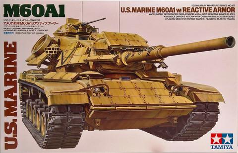 U.S. Marine M60A1 with Reactive Armor, 1:35 (pidemmällä toimitusajalla)