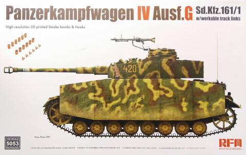 Panzerkampfwagen IV Ausf.G, 1:35