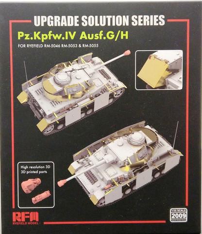 Upgrade Set for Pz.Kpfw.IV Ausf.G/H (for RFM), 1:35
