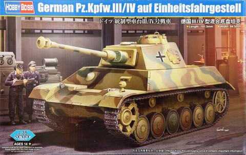 German Pz.Kpfw.III/IV auf Einheitsfahrgestell, 1:35