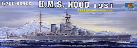 H.M.S. Hood 1931, 1:700