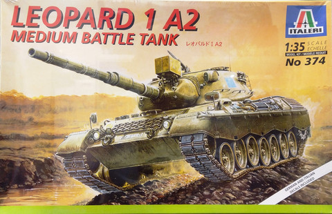 Leopard 1A2, 1:35