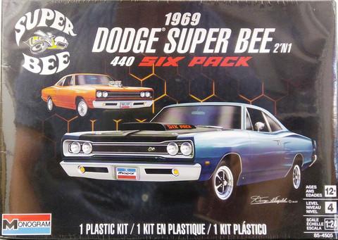 Dodge Super Bee 440 Six Pack 1969, 1:24 (pidemmällä toimitusajalla)