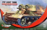 7TP Light Tank Twin Turret Version, 1:72