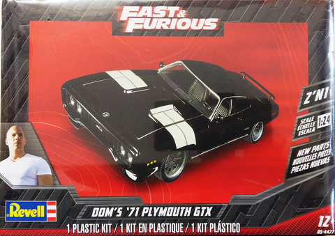 Plymouth GTX '71 (Dom's) Fast & Furious, 1:24