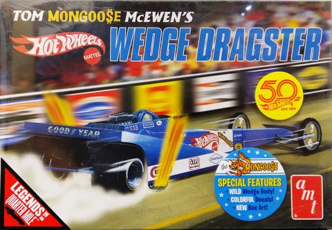 Tom Mongoose McEwen's Hotwheels Wedge Dragster, 1:25