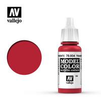Transparent Red, Model Color 17ml