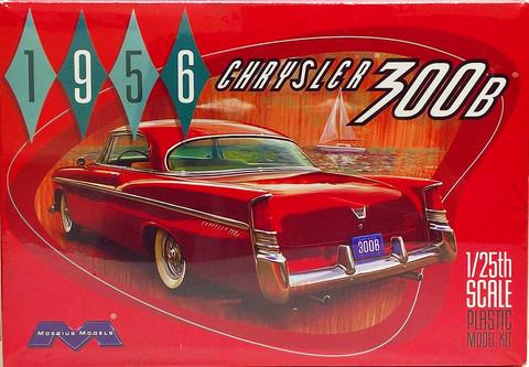 Chrysler 300B 1956, 1:25 (pidemmällä toimitusajalla)