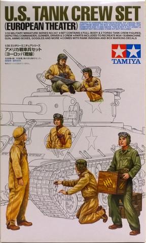 U.S. Tank Crew Set (European Theater), 1:35 (pidemmällä toimitusajalla)
