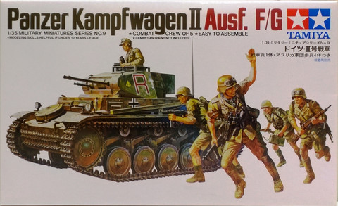 Panzerkampfwagen II Ausf. F/G, 1:35 (pidemmällä toimitusajalla)