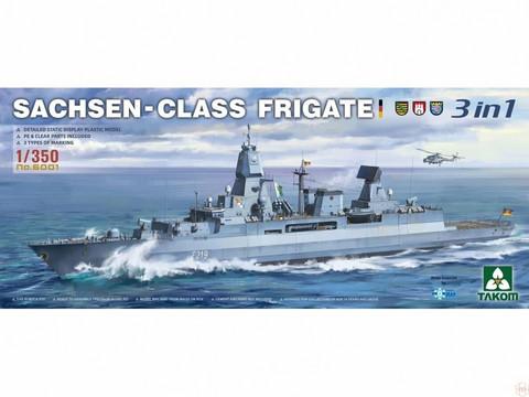 ENNAKKOTILAUS Sachsen-Class Frigate, 1:350