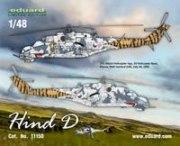 ENNAKKOTILAUS Mi-24D Hind Limited Edition, 1:48