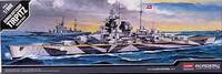 German Battleship Tirpitz, 1:800