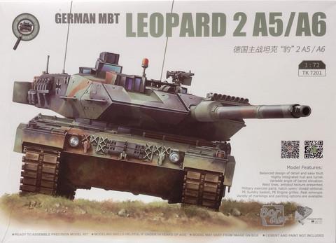 Leopard 2 A5/A6, 1:72