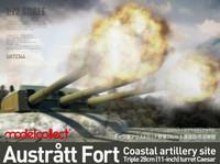 Austratt fort coastal artillery site, 1:72 (Pidemmällä Toimitusajalla)