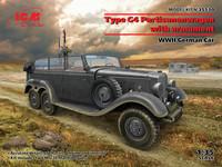 Type G4 Partisanenwagen With Armament, 1:35 (Pidemmällä Toimitusajalla)