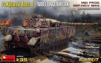 Pz.Kpfw.IV Ausf. J Nibelungenwerk Mid Production, 1:35 (Pidemmällä Toimitusajalla)