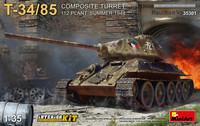T-34-85 112 Plant Composite Turret, 1:35 (Pidemmällä Toimitusajalla)